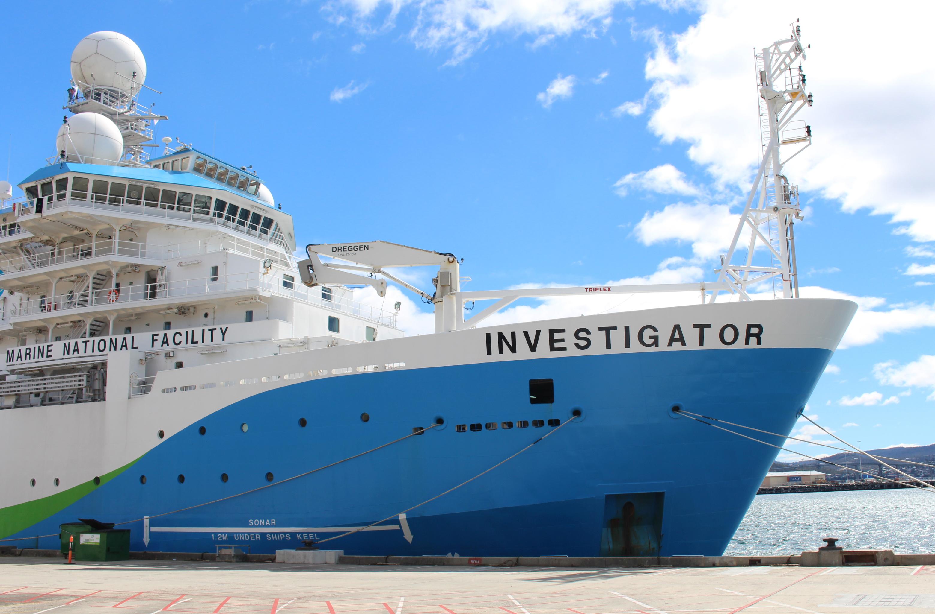 Investigator in Hobart